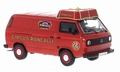 VW Volkswagen T3 a Circus Roncalli Red Rood 1/43