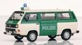 VW Volkswagen T3 b Polizei Police Politie  1/43