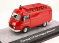 Hanomag F25 Feuerwehr Brandweer Red Rood  1/43
