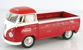 VW Volkswagen T1 Pick up Red Rood Coca Cola 1962 1/43