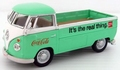 VW Volkswagen T1 Pick up Green Groen  Coca Cola 1962 1/43