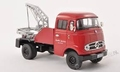 Mercedes Benz L319 Takelwagen Sleepdienst Red Rood 1/43