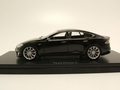 Tesla model S Black Zwart  1/43
