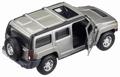 Hummer  H3 Grey metallic Grijs 1/32