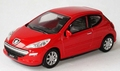 Peugeot 207 Red  Rood 1/43