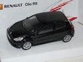 Renault Clio RS Black Zwart 1/43