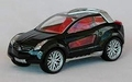 Giugiaro Cross Coupe Black Zwart 1/43