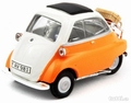 BMW Isetta 250 White Orange  Wit Oranje 1/43