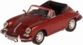 Porsche 356 B Bordeaux Cabrio  1/43
