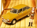Citroen Ami 8 Yellow Geel + figure + figuur  1/43