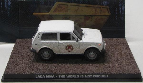 Lada Niva The world is not enough James Bond 007 1/43