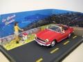 Simca Oceane Cabrio Red Rood + FIGURE  FIGUUR 1/43