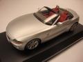 BMW Z4 Silver Zilver Cabrio 1/12