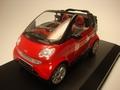Smart Cabrio Red Rood  1/12