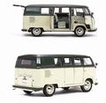 VW Volkswagen T1 Green Groen Standaard Bus 1957 1/12