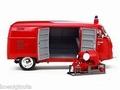 VW Volkswagen Fire engine 1952 Red Rood Brandweer  1/12