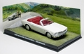 Ford Mustang Convertible Cabrio Goldfinger James bond 007 1/43