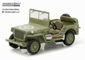 Jeep Willy's MB Groen  1/43