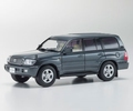 Toyota Land Cruiser 100 Gray Metallic Grijs  1/43