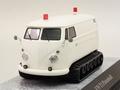 VW Bus  T1 pistenbulli white wit   1/43
