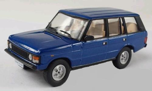 Land Rover Range rover 1970 Blue Blauw 1/43