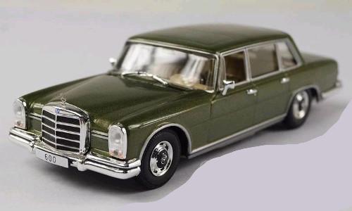 Mercedes Benz 600 w100 Groen  Green 1964 1/43
