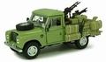 Land Rover  Series III 109 Green Groen Pick up + accesoires 1/43