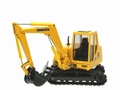 Komatsu PC95 R Geel Yellow 1/50