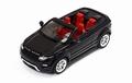 Range Rover Evoque Convertible Cabrio Zwart 2012 1/43