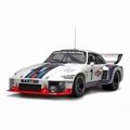 Porsche 935 Martini Racing Winner Dijon 6H 1976 # 1 Ixck/Mas 1/43