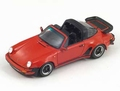 Porsche 911 turbo 3,3 targa 1989 Red Rood 1/43