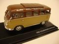 VW Volkswagen microbus T1 1962 Brown beige Bruin 1/43