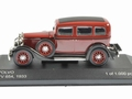 Volvo PV654 Bordeaux red rood 1933 1/43