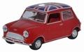 Mini Cooper Union Jack  red rood 1/43