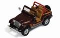 Jeep CJ 7  1995 Donker Rood Dark Red 1/43