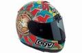 AGV Helmet Valentino Rossi helm Moto GP Quatar 2011 1/8