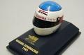 Helmet M Schumacher 1989 Helm F1 Formule 1 1/8