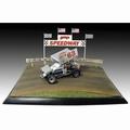 Dirt track speedway diorama  1/18