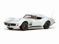 Chevrolet Corvette 1969 Coupe Can-Am White  wit 1/43