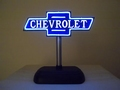 Chevrolet desktop neon-style sign  +/- 18 cm x 18 cm