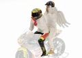 Figuur figurines Valentino Rossi & Angel  Moto GP 250 Rio 99 1/12