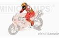 Figuur figurine Valentino Rossi 8h Suzuka 2001 1/12