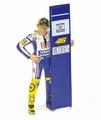 Figuur figurine Valentino Rossi Moto GP 2010 Sepang 1/12