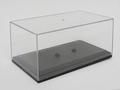 Vitrine box acrylaat helder voor 1/43 modellen  1/43