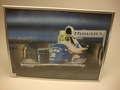 Poster A, Senna Renault F1 Formile 1  Rothmans