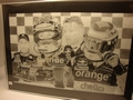 Poster Verstappen F1 Formule 1 Orange Red Bull Bridgestone