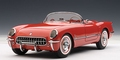 Chevrolet Corvette 1954 red  rood  Cabrio 1/18