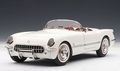 Chevrolet Corvette  1953 cabrio wit polo white 1/18