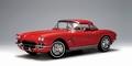 Chevrolet Corvette  1962 rood roman red cabrio + hardtop 1/18
