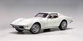Chevrolet Corvette 1970 wit classis white  1/18